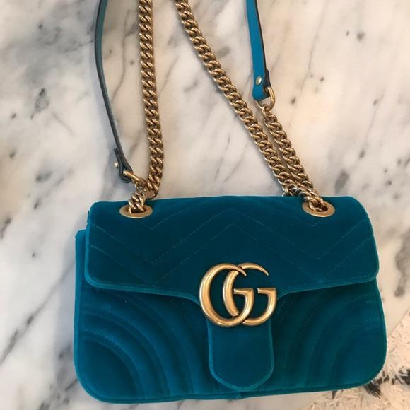 f7c27d43146ca0 Gucci Bags | Marmont Mini Velvet Shoulder Bag | Poshmark
